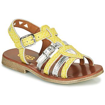 kengät Tytöt Sandaalit ja avokkaat GBB FANNI Keltainen
