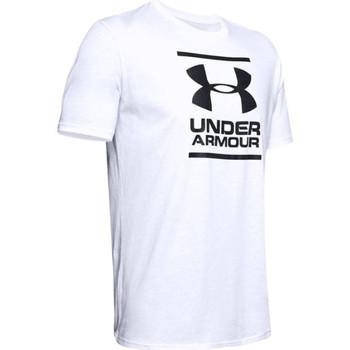vaatteet Miehet Lyhythihainen t-paita Under Armour GL Foundation SS Tee Blanc