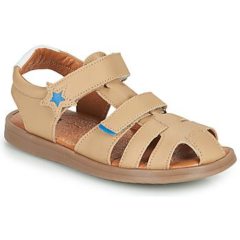 kengät Pojat Sandaalit ja avokkaat GBB MARINO Beige / Dpf