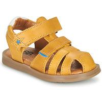 kengät Pojat Sandaalit ja avokkaat GBB MARINO Keltainen