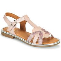 kengät Tytöt Sandaalit ja avokkaat GBB EGEA Vaaleanpunainen