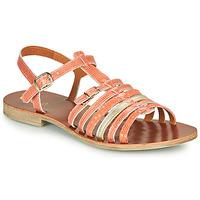 kengät Tytöt Sandaalit ja avokkaat GBB BANGKOK Koralli-kulta / Dpf / Coca