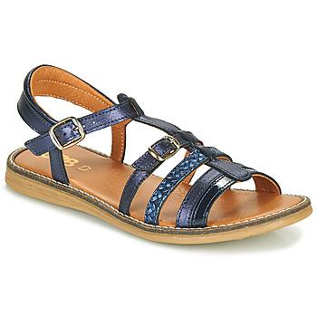 kengät Tytöt Sandaalit ja avokkaat GBB OLALA Sininen
