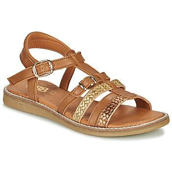 kengät Tytöt Sandaalit ja avokkaat GBB OLALA Ruskea