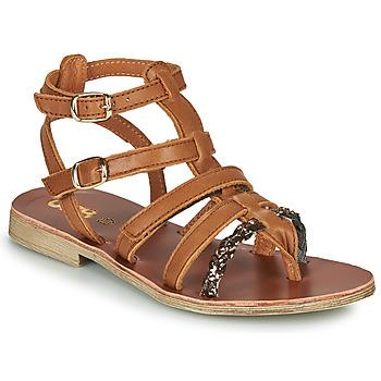kengät Tytöt Sandaalit ja avokkaat GBB NOVARA Ruskea