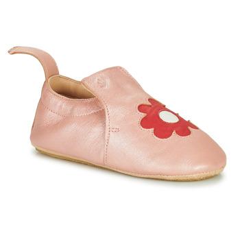 kengät Lapset Tossut Easy Peasy BLUBLU FLEURS Vaaleanpunainen