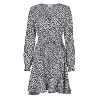 vaatteet Naiset Lyhyt mekko Betty London NAZUR Laivastonsininen / White