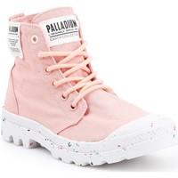 kengät Naiset Korkeavartiset tennarit Palladium Manufacture HI Organic W 96199-647-M pink