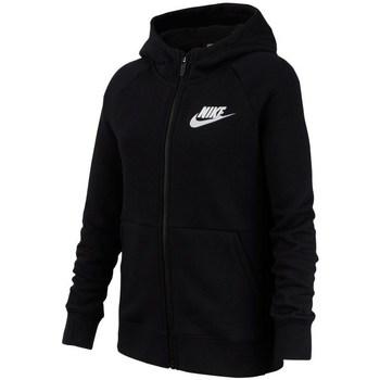 vaatteet Tytöt Svetari Nike Sportswear Mustat