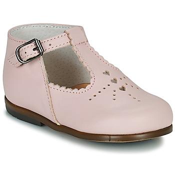 kengät Tytöt Balleriinat Little Mary FLORIANE Vaaleanpunainen