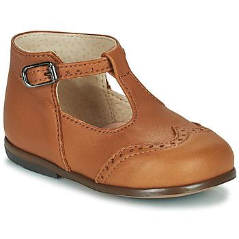 kengät Tytöt Balleriinat Little Mary FRANCOIS Ruskea