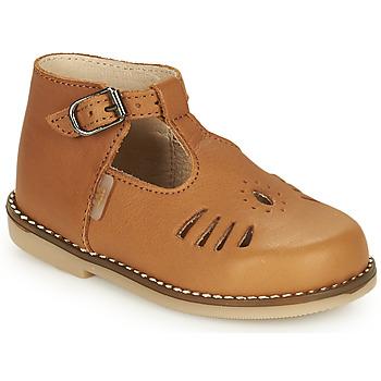 kengät Tytöt Korkeavartiset tennarit Little Mary SURPRISE Ruskea