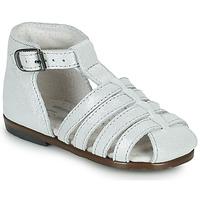 kengät Tytöt Sandaalit ja avokkaat Little Mary JULES Hopea