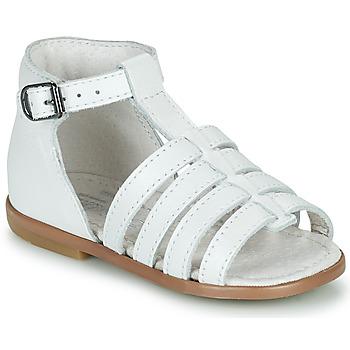 kengät Tytöt Sandaalit ja avokkaat Little Mary HOSMOSE Valkoinen
