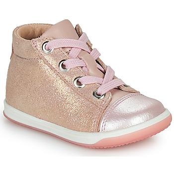 kengät Tytöt Korkeavartiset tennarit Little Mary VITAMINE Vaaleanpunainen