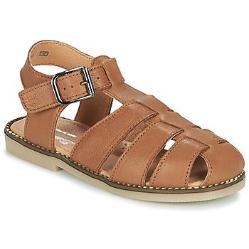 kengät Pojat Sandaalit ja avokkaat Little Mary BREHAT Ruskea