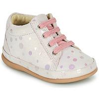 kengät Tytöt Korkeavartiset tennarit Little Mary GAMBARDE Vaaleanpunainen