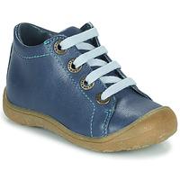 kengät Lapset Korkeavartiset tennarit Little Mary GOOD Sininen