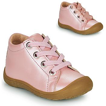 kengät Lapset Korkeavartiset tennarit Little Mary GOOD Vaaleanpunainen