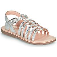 kengät Tytöt Sandaalit ja avokkaat Little Mary BARBADE Hopea