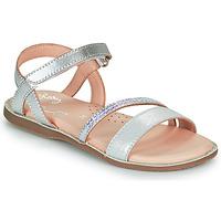 kengät Tytöt Sandaalit ja avokkaat Little Mary DOLERON Hopea