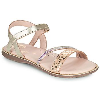 kengät Tytöt Sandaalit ja avokkaat Little Mary DOLERON Kulta