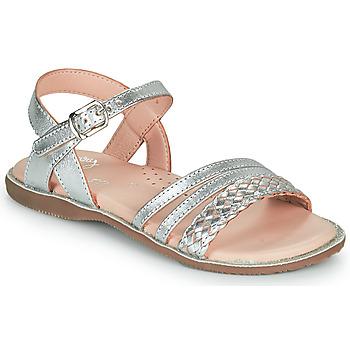 kengät Tytöt Sandaalit ja avokkaat Little Mary LIME Hopea