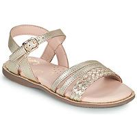 kengät Tytöt Sandaalit ja avokkaat Little Mary LIME Kulta