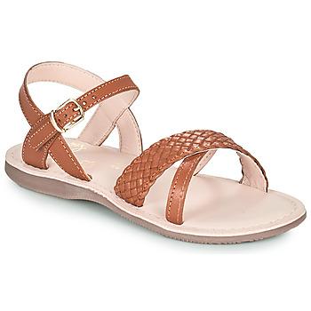 kengät Tytöt Sandaalit ja avokkaat Little Mary LIANE Ruskea