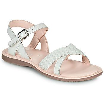 kengät Tytöt Sandaalit ja avokkaat Little Mary LIANE Valkoinen