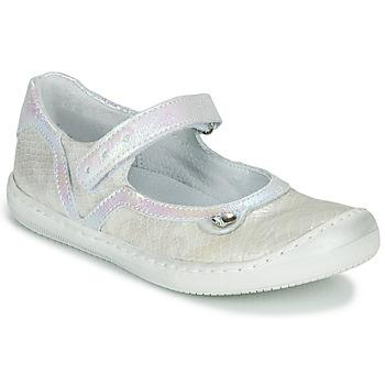 kengät Tytöt Balleriinat Little Mary BRILLANTE Vaalea