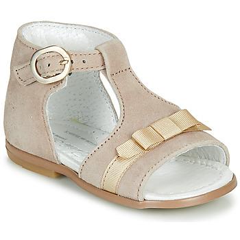 kengät Tytöt Sandaalit ja avokkaat Little Mary GAELLE Beige