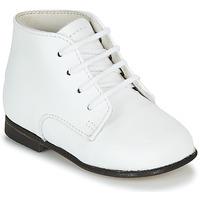 kengät Lapset Bootsit Little Mary FL Valkoinen