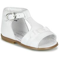 kengät Tytöt Sandaalit ja avokkaat Little Mary GAELLE White