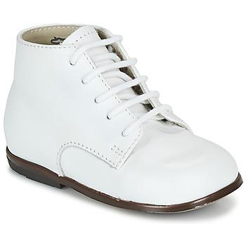 kengät Lapset Bootsit Little Mary QUINQUIN Valkoinen