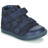 kengät Tytöt Korkeavartiset tennarit Little Mary ADELINE Laivastonsininen