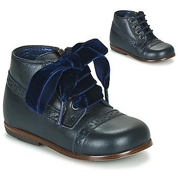 kengät Tytöt Bootsit Little Mary FAVORITE Laivastonsininen