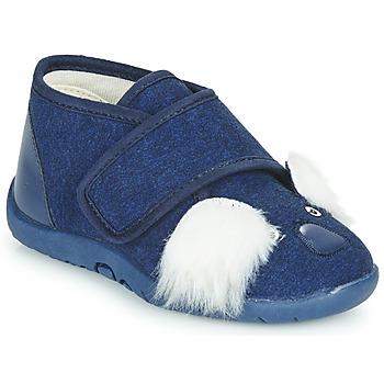 kengät Lapset Tossut Little Mary KOALAVELCRO Sininen