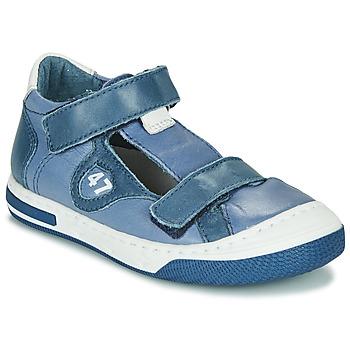 kengät Pojat Matalavartiset tennarit Little Mary LORENZO Sininen
