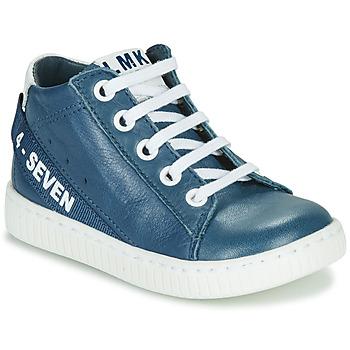 kengät Pojat Korkeavartiset tennarit Little Mary LUCKY Blue