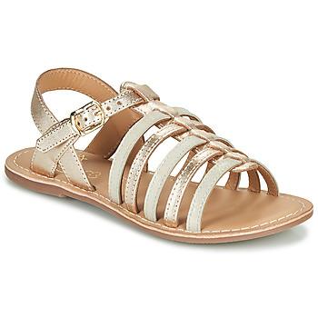 kengät Tytöt Sandaalit ja avokkaat Little Mary BARBADE Kulta