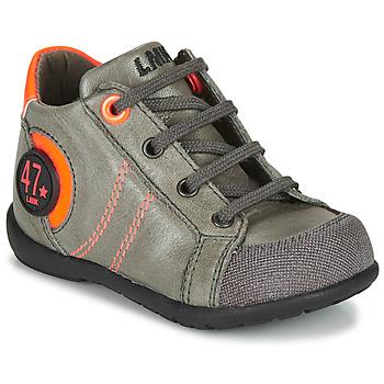 kengät Pojat Bootsit Little Mary FELIX Harmaa