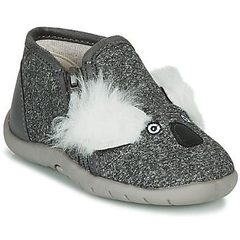 kengät Lapset Tossut Little Mary KOALAZIP Harmaa