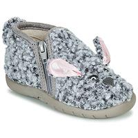 kengät Lapset Tossut Little Mary LAPINZIP Harmaa