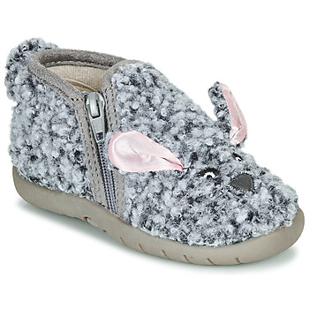 kengät Lapset Tossut Little Mary LAPINZIP Grey