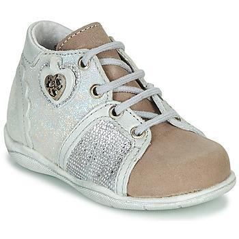 kengät Tytöt Bootsit Little Mary VANILLE Hopea / Taupe
