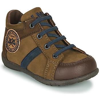 kengät Pojat Bootsit Little Mary COQUIN Ruskea