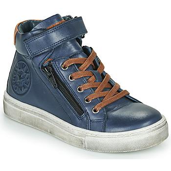 kengät Pojat Korkeavartiset tennarit Little Mary FIRST Blue