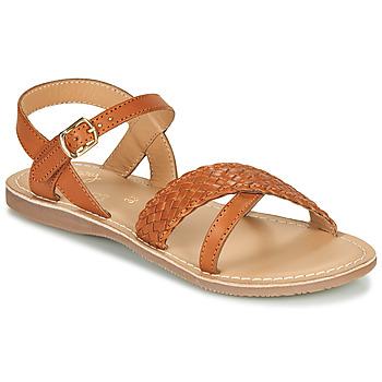 kengät Tytöt Sandaalit ja avokkaat Little Mary LIANE Cognac