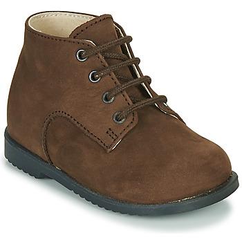 kengät Pojat Bootsit Little Mary MILOT Ruskea